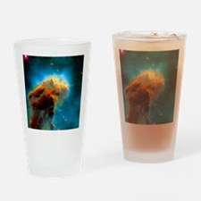 Gas pillars in the Eagle Nebula Drinking Glass