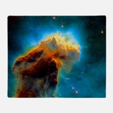 Gas pillars in the Eagle Nebula Throw Blanket