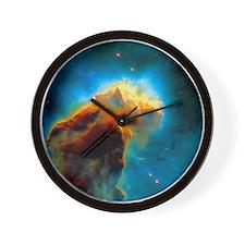 Gas pillars in the Eagle Nebula Wall Clock