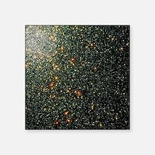 "Globular cluster 47 Tucanae Square Sticker 3"" x 3"""
