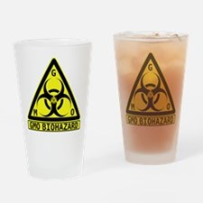 GMO Biohazard Drinking Glass