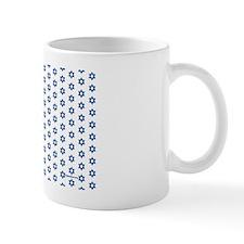 MDservetrayWhiteMedBlue-a Mug