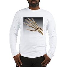Hand bones Long Sleeve T-Shirt