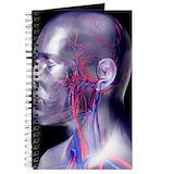 Human anatomy Journals & Spiral Notebooks
