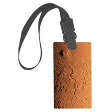 Gusev crater and river, Mars Luggage Tag
