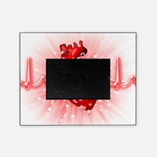 Heart and ECG Picture Frame