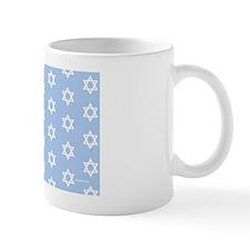 MDservetrayLargeStarsPLtBlue Mug
