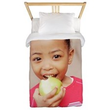 Healthy eating Twin Duvet