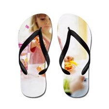 Healthy eating Flip Flops