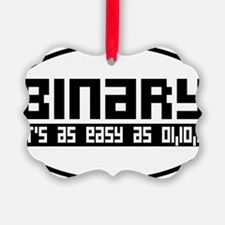 binaryoval Ornament