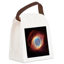 Helix nebula, HST image Canvas Lunch Bag