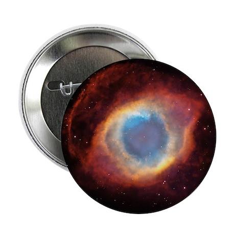 """Helix nebula, HST image 2.25"""" Button"""