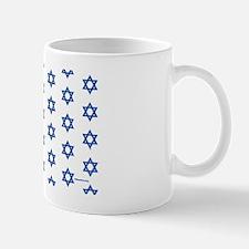 MDservetrayLargeStarsWhiteMedBlue Mug