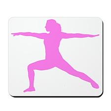 Yoga Warrior Mousepad