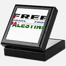 Anti israel Keepsake Box