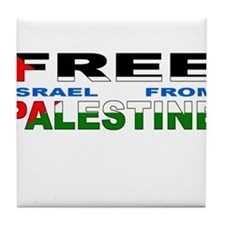 Cute Pro palestine Tile Coaster