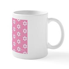 MDservetrayLargeStarsPink Mug