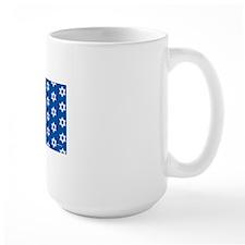 MDservetrayLargeStarsMedBlue Mug