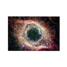 Helix nebula, infrared Spitzer im Rectangle Magnet