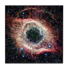 Helix nebula, infrared Spitzer image Tile Coaster