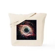Helix nebula, infrared Spitzer image Tote Bag