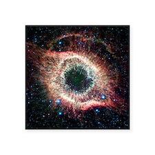 "Helix nebula, infrared Spit Square Sticker 3"" x 3"""