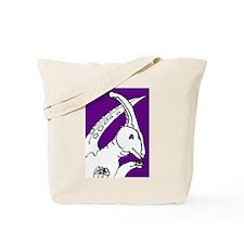 Parasaurolophus Purple! Tote Bag