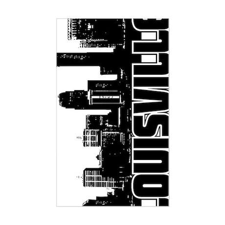 Louisville Skyline V Sticker (Rectangle)