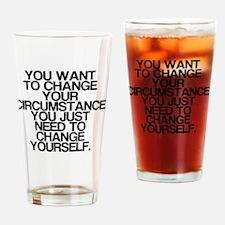 Inspiring, Change Yourself, Drinking Glass