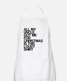 Uncle, Lousy Christmas Gift, Apron