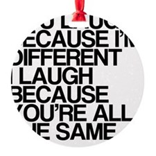 Differences Ornament