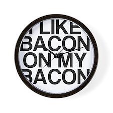I Like Bacon on my Bacon Wall Clock