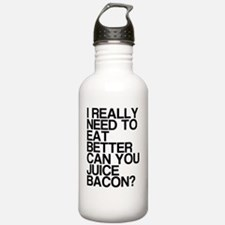 Can You Juice Bacon? Water Bottle