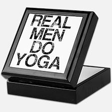 Real Men Do Yoga, Vintage, Keepsake Box