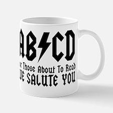 ABCD, We Salute You, Mug