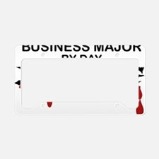Business Major Zombie License Plate Holder