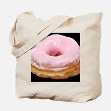 donut big_frosted_pinkdbutton Tote Bag