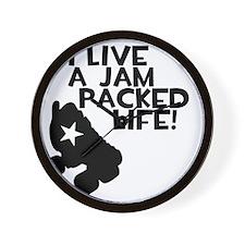 Jam Packed Life Wall Clock