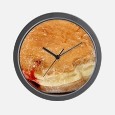 donut big_jelly Wall Clock