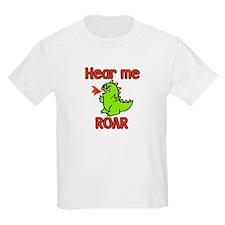 Hear Me ROAR Kids T-Shirt