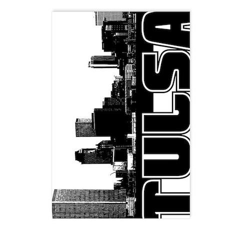 Tulsa Skyline V Postcards (Package of 8)