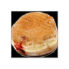 "donut big_jellydbutton Square Sticker 3"" x 3"""