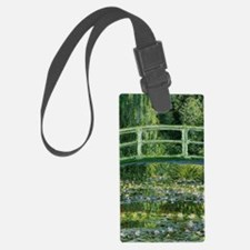 Monet Water Lilies And Japanese  Luggage Tag
