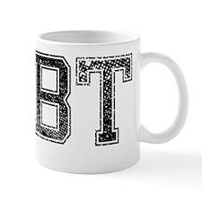 DEBT, Vintage Mug