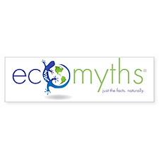EcoMyths: Just the Facts Naturall Bumper Sticker
