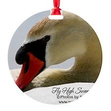 Swan Calendar Cover Ornament