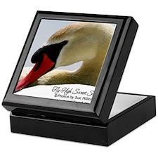Swan Calendar Cover Keepsake Box