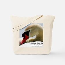 Swan Calendar Cover Tote Bag