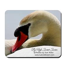 Swan Calendar Cover Mousepad