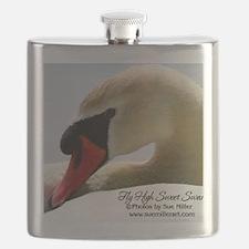 Swan Calendar Cover Flask